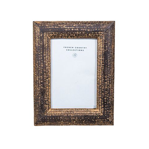 Darcey Photo Frame Antique Brown 4x6""