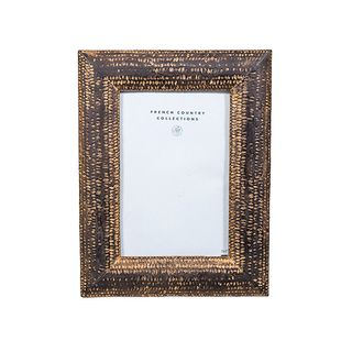 "Darcey Photo Frame Antique Brown 4x6"""