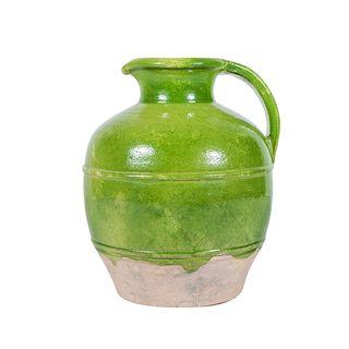 Provencal Jug Pear Green