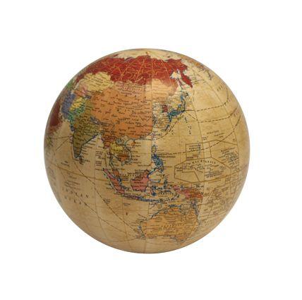 Globe Cream 10cm
