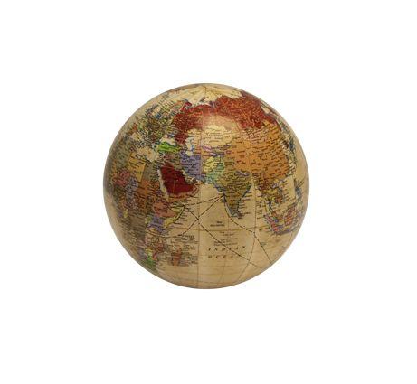 Globe Cream 7.5cm
