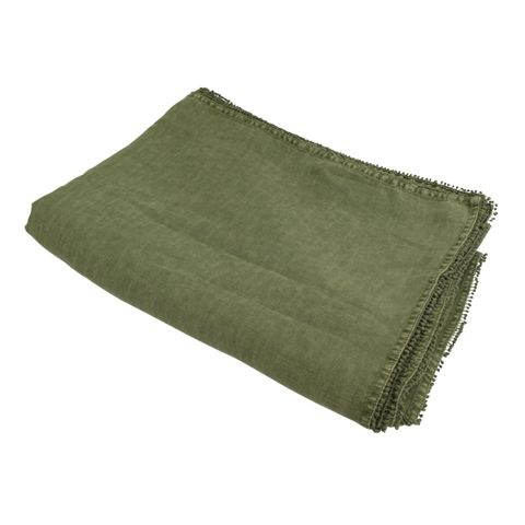 Bauble Army Green Tablecloth