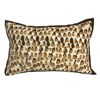 Pebble Cushion Saffron