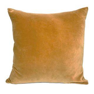 Velvet Cushion Saffron