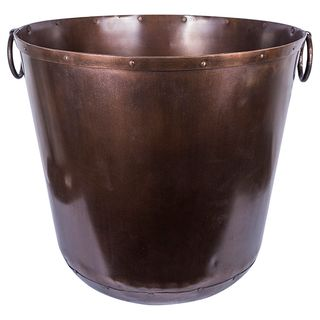 Copper Ring Planters Large