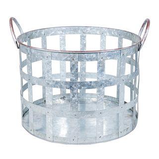 Round Metal Basket Large