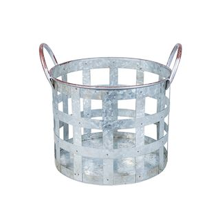 Round Metal Basket Small
