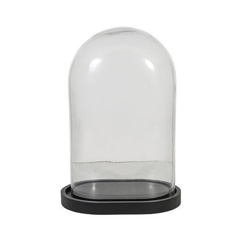 Oval Dome Black Base