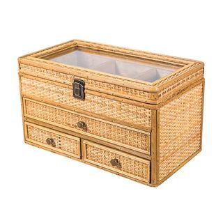 Natural Rattan Storage Box