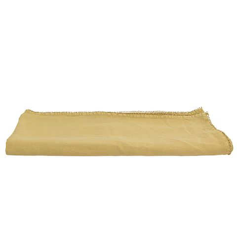 Bauble Soft Mustard Tablecloth