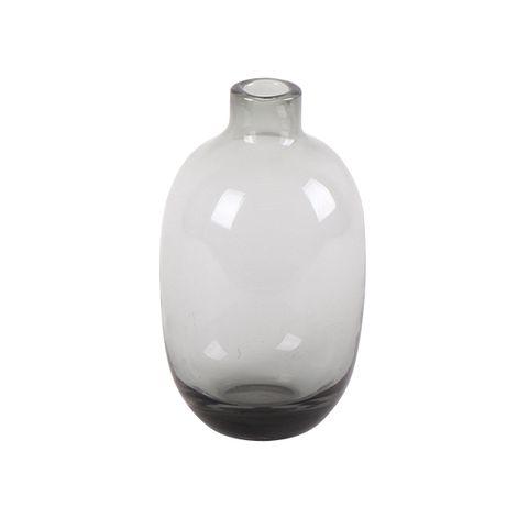 Grey Narrow Bud Vase