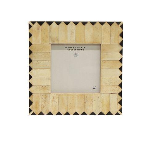 "Cleo Zig Zag Square Photo Frame 4x4"""