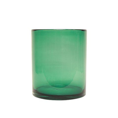Marine Blue Hurricane Vase