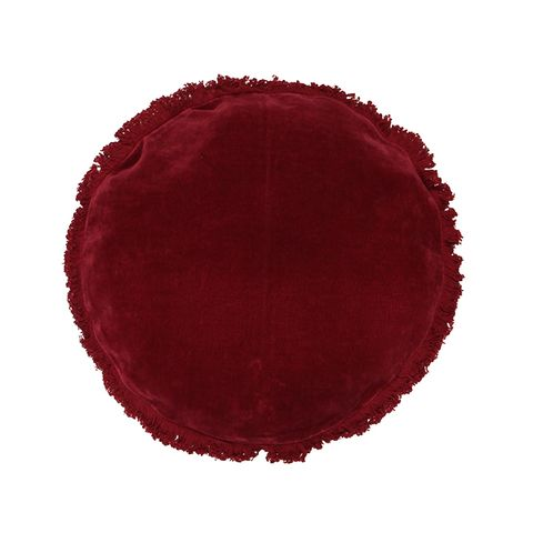 Boudoir Round Cushions (assorted colours)