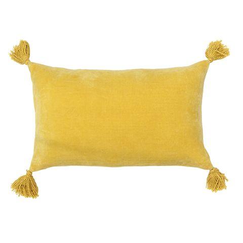 Boudoir Tassled Cushion (assorted colours)