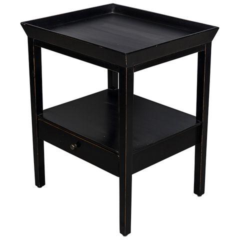 Santiago Bedside Table Black