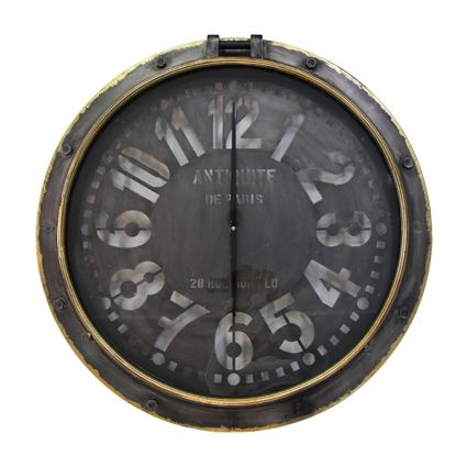 Port Hole Wall Clock