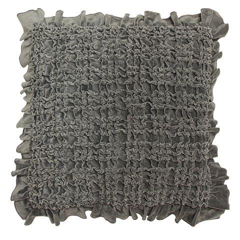 Ruffle Cushion (assorted colours)