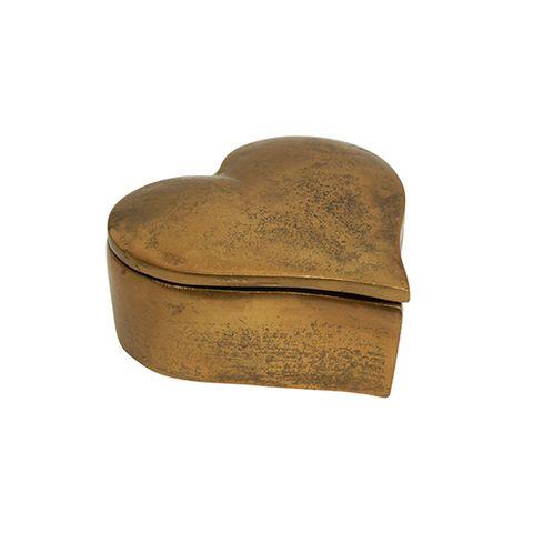 Heart Box Gold