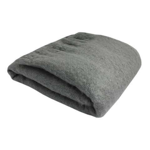 Throw Tassle Grey