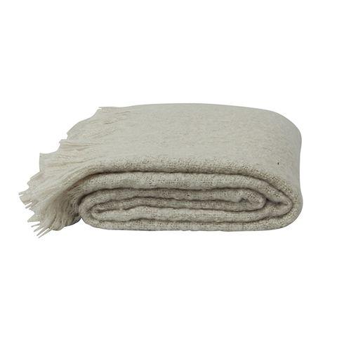 Throw Tassle Soft Grey