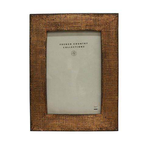 "Modern Gold Photo Frame 4x6"""