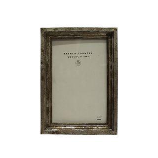 "Aria Antique Silver Photo Frame 4x6"""