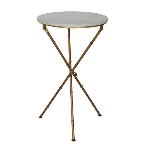 Crosby X-Leg Side Table
