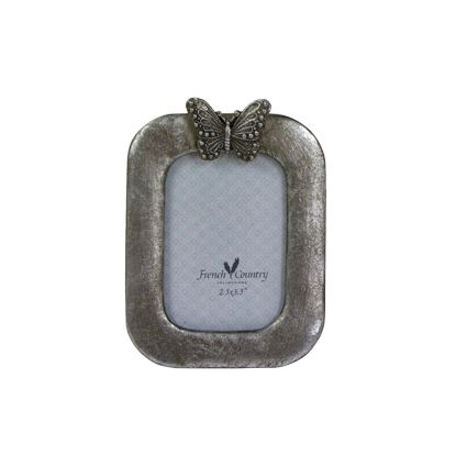 """Butterfly Photo Frame  Vertical 2.5x3.5"""""""