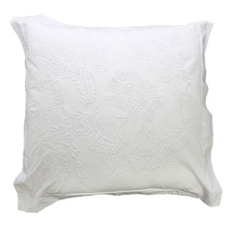 Pair Embelli Euro Pillow Cases