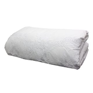 Embelli Queen Embroidered Duvet Cover