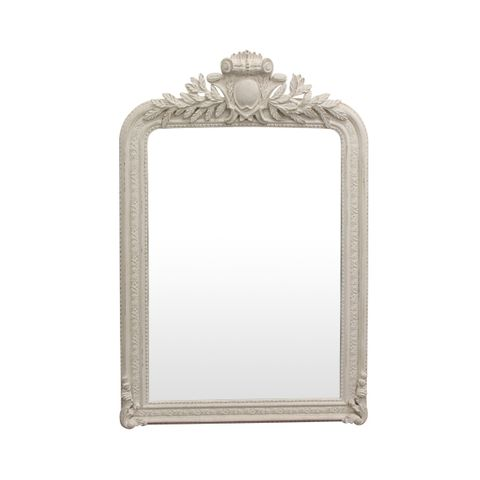 Trelise Mirror White Finish