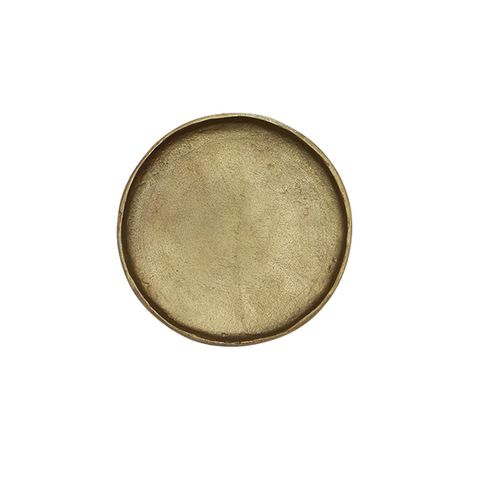 Handforged Brass Plate Medium