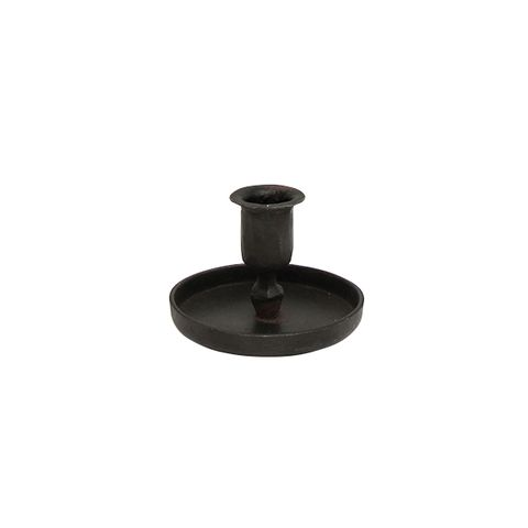 Raine Taper Black  Candle Cup