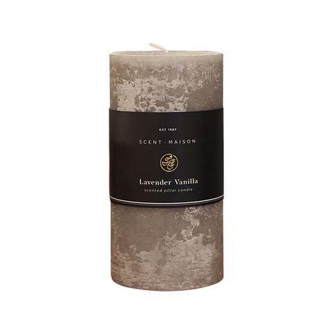 "Maison Pillar Candle Lavender Vanilla 3x6"""