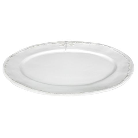 Dragonfly Large Ceramic Oval Platter