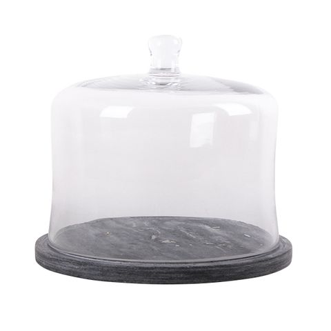 Marble Base Food Cover Large