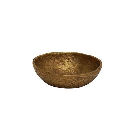 Handforged Brass Condiment Plate