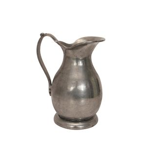 Pewter Jug with Flat Handle Small