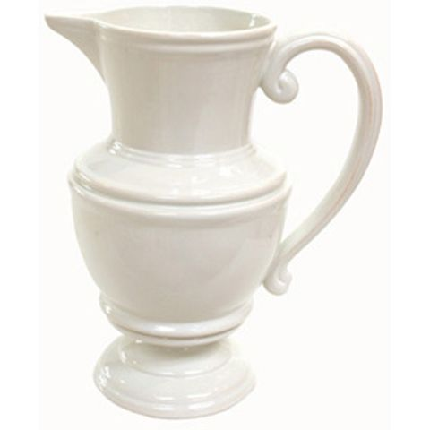 White Pitcher Large