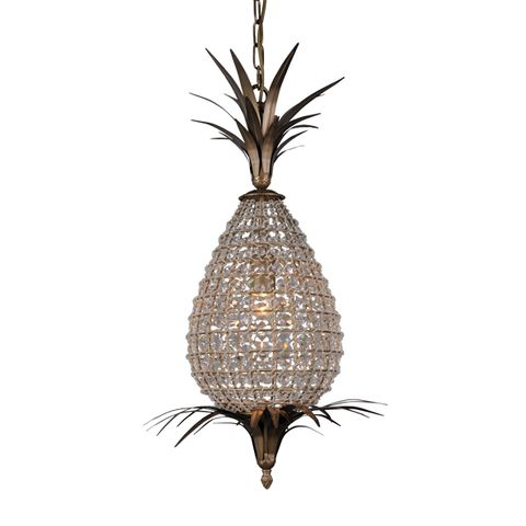 Small Crystal Pineapple Chandelier