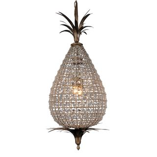 Large Crystal Pineapple Chandelier