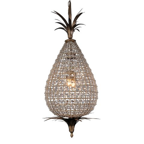 Large Crystal Pineapple Chandelier