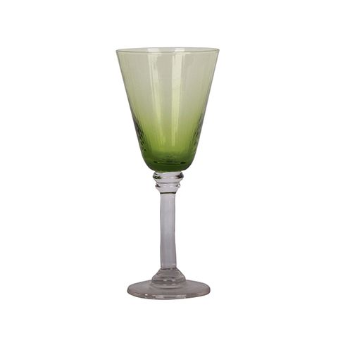 Talbot Wine Glass Green