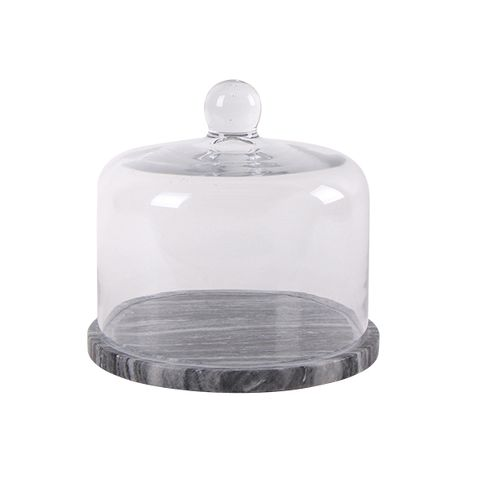 Marble Base Food Cover Small