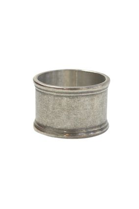 Set 4 Round Pewter Napkin Ring