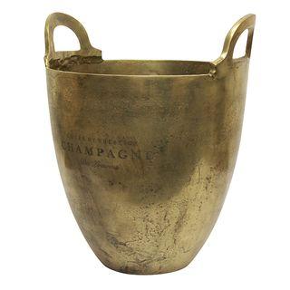 Wine Bucket Burnt Pewter Large