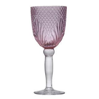 Vintage Pink Goblet