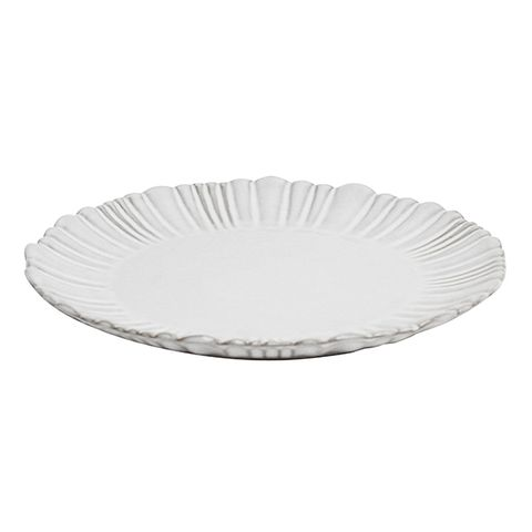 Iris Fluted Dinner Plate