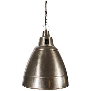 Alexia Iron Lamp Silver Finish